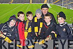 Dr Crokes fans at the UCC v Dr Crokes game in Fitzgerald Stadium on Sunday, from left: Larry O'Connor, John Joe Buckley, Nathaniel Doncel, Evan Looney, Patrick Buckley, Patrick Buckley and Sean O'Neill.