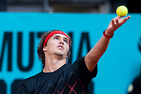German Alexander Zverev during Mutua Madrid Open 2018 at Caja Magica in Madrid, Spain. May 10, 2018. (ALTERPHOTOS/Borja B.Hojas) /NORTEPHOTOMEXICO