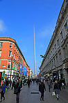Spire of Dublin, also the Monument of Light,  Henry Street, Dublin, Ireland, 120 metres high, Ian Ritchie Architects, 2003