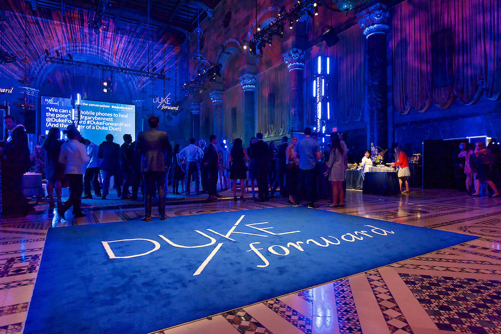 Duke Forward fundraising gala at Cipriani 42nd St. in NYC