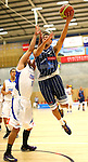 Brook Ruscoe in action,NBL Basketball Fico Finance Nelson Giants v Wellington Saints 4th April 2014,Evan Barnes / Shuttersport.