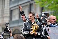 RWC All Blacks Parade Wellington<br />