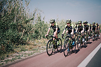 Mitchelton-Scott Women's team training camp<br /> <br /> Oliva (Alicante) /Spain, may 2018<br /> &copy;kramon
