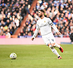 Real Madrid´s Sergio Ramos  during 2015/16 La Liga match between Real Madrid and Atletico de Madrid at Santiago Bernabeu stadium in Madrid, Spain. February 27, 2016. (ALTERPHOTOS/Javier Comos)