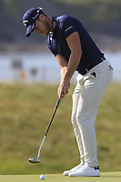 Danny Willett (ENG) putts on the 3rd green during Thursday's Round 1 of the Dubai Duty Free Irish Open 2019, held at Lahinch Golf Club, Lahinch, Ireland. 4th July 2019.<br /> Picture: Eoin Clarke | Golffile<br /> <br /> <br /> All photos usage must carry mandatory copyright credit (© Golffile | Eoin Clarke)