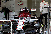 13th March 2020; Melbourne Grand Prix Circuit, Melbourne, Victoria, Australia; Formula One, Australian Grand Prix, Practice Day; Alfa Romeo car