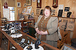 Barkerville, Historic Site, McPherson's Watchmaker shop, merchant, Mrs, Claggett