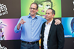 """Director Pete Docter and the producer Jonas Rivera attends to the premiere of the film """"Inside Out ( Al Revés)"""" at Callao Cinemas in Madrid, Spain. July 15, 2015.<br />  (ALTERPHOTOS/BorjaB.Hojas)"""
