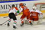 03.01.2020, BLZ Arena, Füssen / Fuessen, GER, IIHF Ice Hockey U18 Women's World Championship DIV I Group A, <br /> Daenemark (DEN) vs Ungarn (HUN), <br /> im Bild Mira Seregely (HUN, #17), Sofie Skott (DEN, #22), Emma-Sofie Nordstrom (DEN, #25)<br /> <br /> Foto © nordphoto / Hafner
