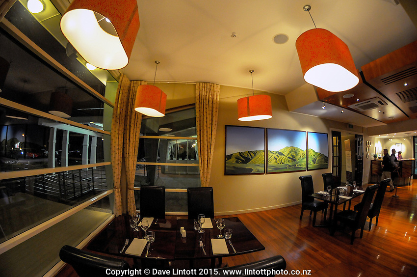 Solway Copthrone hotel dining room. Masterton District Council photoshoot. Masterton, Wairarapa, New Zealand on Wednesday, 19 August 2015. Photo: Dave Lintott / lintottphoto.co.nz
