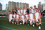 H&A Scottish Barbarians during Day 2 of the GFI HKFC Tens 2012 at the Hong Kong Football Club on March 22, 2012. Photo by Manuel Queima / The Power of Sport Images for HKFC