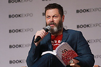 NEW YORK, NY - MAY 31: Nick Offerman at the Book Expo 2018 Adult &amp; Author Breakfast at The Javits Center in New York City on May 31, 2018. <br /> CAP/MPI99<br /> &copy;MPI99/Capital Pictures