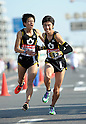 (L to R) Taku Fujimoto (Kokushikan-Univ), Takafumi Kikuchi (Kokushikan-Univ), JANUARY 2, 2012 - Athletics : The 88th Hakone Ekiden Race Hiratsuka Relay place in Kanagawa, Japan. (Photo by Atsushi Tomura/AFLO SPORT) [1035].