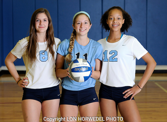 Skyline High School junior varsity volleyball team. 9-24-14.