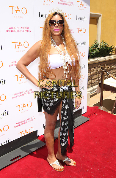 12 July 2014 - Las Vegas, Nevada - Wendy Williams. Wendy Williams and Brandi Glanville host The Worlds Largest Bachelorette Party at Tao Beach at the Venetian.<br /> CAP/ADM/MJT<br /> &copy; MJT/AdMedia/Capital Pictures