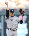 Masahiro Tanaka (Yankees),<br /> JULY 3, 2014 - MLB :<br /> Pitcher Masahiro Tanaka of the New York Yankees during the Major League Baseball game against the Minnesota Twins at Target Field in Minneapolis, Minnesota, United States. (Photo by AFLO)