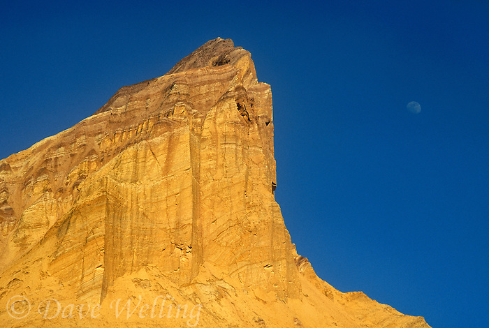 739650154 the moon rises over manly beacon at zabriski point in death valley national park californai