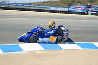 Rossi races Karts