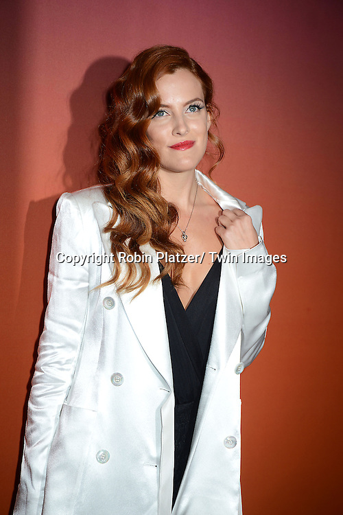 Riley Keough attends the 2013 Whitney Gala & Studio party honoring artist Ed Ruscha on October 23, 2013 at Skylight at Moynihan Station in New York City.