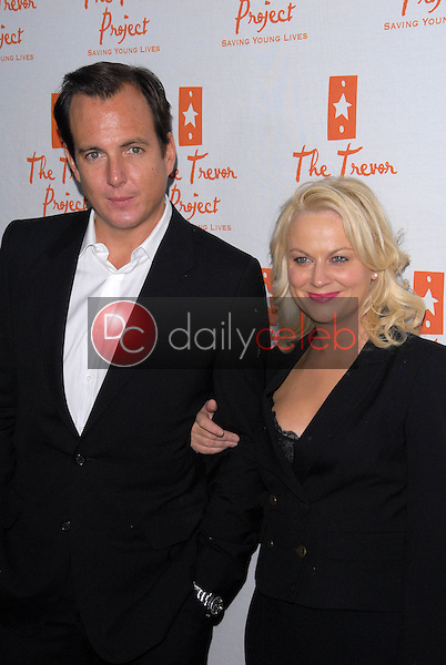 Will Arnett and Amy Poehler<br />