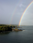 rainbow at Kapalua near Ritz  Carlton