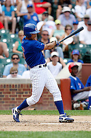 August 9, 2009:  So Taguchi of the Iowa Cubs during a game at Wrigley Field in Chicago, IL.  Iowa is the Pacific Coast League Triple-A affiliate of the Chicago Cubs.  Photo By Mike Janes/Four Seam Images