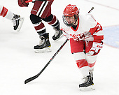 Taylor Holze (BU - 24) - The Boston University Terriers defeated the Harvard University Crimson 5-2 on Monday, January 31, 2012, in the opening round of the 2012 Women's Beanpot at Walter Brown Arena in Boston, Massachusetts.