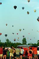Hot air ballons festival, circa 2003<br /> <br /> FILE PHOTO : Agence quebec Presse