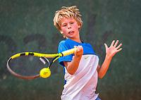 Hilversum, Netherlands, August 9, 2017, National Junior Championships, NJK, Mats Bredschneijder<br /> Photo: Tennisimages/Henk Koster