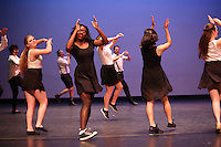 Dance Production dress rehearsal, March 18, 2015 in Thorne Hall.<br /> (Courtesy photo by Joshua Dancu '15)