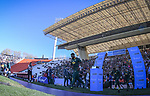 06/09/2018. Malvinas Argentinas Stadium, Mendoza, Argentina. The Rugby Championship 2018, Round 2, Los Pumas beat the Spingboks at home 32 to 19. Siyamthanda Kolisi (Captain) leading the Springboks to the pitch. /Maximiliano Aceiton/Trysportimages