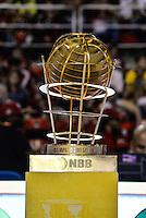 RIO DE JANEIRO, RJ, 26.05.2015: BASQUETE-NBB - Taça que será entregue ao campeão da NBB, nesta terça-feira (26), no HSBC Arena da Barra no Rio de Janeiro.(Foto: João Mattos / Brazil Photo Press)