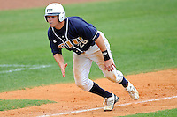 17 April 2010:  FIU's Tim Jobe (26) runs home in the fourth inning as the FIU Golden Panthers defeated the University of New Orleans Privateers, 6-4, at University Park Stadium in Miami, Florida.