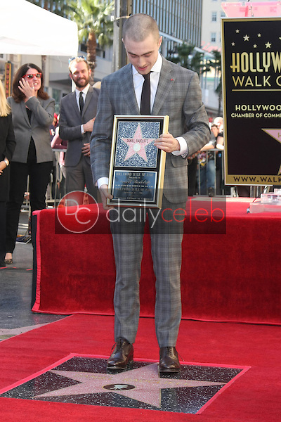 Daniel Radcliffe<br /> at the Daniel Radcliffe Star On The Hollywood Walk Of Fame ceremony, Hollywood, CA 11-12-15<br /> David Edwards/DailyCeleb.Com 818-249-4998