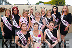 Hens on the Run.<br /> -----------------------<br /> Emily Foran,Marian Pk,Tralee (seated centre) about to board a bus and head off on her hen night last Saturday along with all the gang