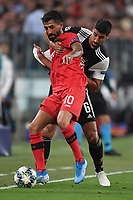 Kerem Demirbay of Leverkusen , Sami Khedira of Juventus <br /> Torino 01/10/2019 Juventus Stadium <br /> Football Champions League 2019//2020 <br /> Group Stage Group D <br /> Juventus - Leverkusen <br /> Photo Andrea Staccioli / Insidefoto