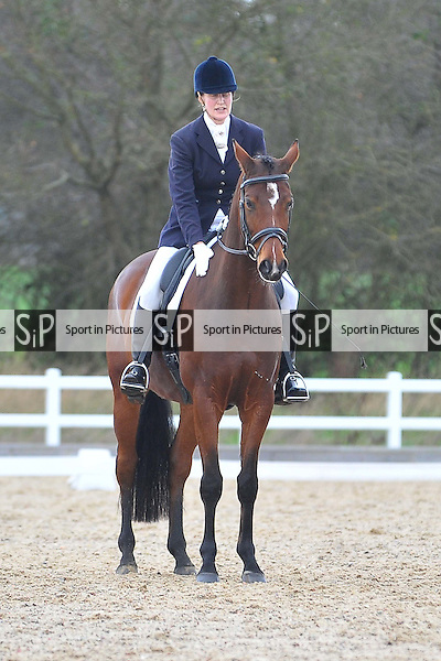 Class 4. British Dressage show. Brook Farm Training Centre. Essex. 18/12/2015. MANDATORY Credit Ellie Ingram/Sportinpictures - NO UNAUTHORISED USE - 07837 394578