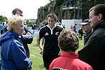 Mike Harris after the test match between New Zealand Secondary Schools and Australia played at Auckland Grammar School on the 10th of October 2006. New Zealand won 18 - 8.<br />