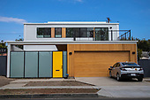 Modular home, Culver City, California, USA