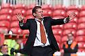 Stevenage manager Graham Westley. Swindon Town v Stevenage - npower League 1 -  County Ground, Swindon - 20th April, 2013. © Kevin Coleman 2013..