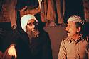 Iran 1979.Sheikh Ezzedine et Abdul Rahman Ghassemlou .Iran 1979.Sheikh Ezzedine and Abdul Rahman Ghassemlou at the headquarters of KDPI