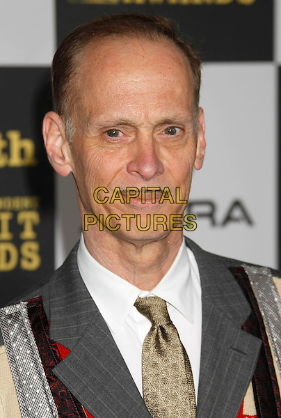 JOHN WATERS.25th Annual Film Independent Spirit Awards - Arrivals held at the Nokia Event Deck at L.A. Live, Los Angeles, California, USA, 5th March 2010..indie portrait headshot grey gray tie  .CAP/ADM/MJ.©Michael Jade/AdMedia/Capital Pictures.