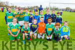 The John Mitchels U8/10 team taking part in the Siobhan Cotter Memorial underage Blitz in Churchill on Sunday.