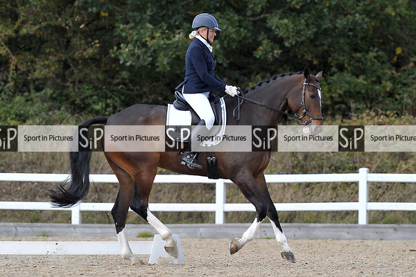 Class 8. British dressage. Brook Farm Training Centre. Essex. UK. 26/10/2018. ~ MANDATORY Credit Garry Bowden/Sportinpictures - NO UNAUTHORISED USE - 07837 394578