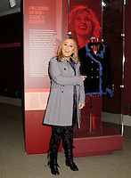 Melissa Etheridge poses for a photo in front Etheridges' jacket she wore to the 2005 Grammy Award show. The jacket is part of the &quot;Women Who Rock&quot; exhibition sponsored by the Rock and Roll Hall of Fame and the RIAA (Recording Industry Association of America) at NMWA in Wasington DC. Sunday Nov. 4th. Grammy award winner Melissa Etheridge is presented with The Excellence in the Performing Arts award from the National Museum of Women in the Arts (NMWA) in Washington DC. Sunday Nov. 4, 2012. Etheridge  also performed on the piano and then an acoustic set on guitar for an intimate audience of about 400 people. Photo &copy;Suzi Altman/For NMWA Grammy award winner Melissa Etheridge is presented with the National Museum of Women in the Arts&rsquo; (NMWA) Award for Excellence in the Performing Arts in Washington DC. Sunday Nov. 4, 2012. Etheridge also performed on the piano and then an acoustic set on guitar for an intimate audience of about 300 people. Photo &copy;Suzi Altman/For NMWA<br /> <br /> Melissa Etheridge NMWA Award for Excellence in the Performing Arts