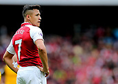 1st October 2017, Emirates Stadium, London, England; EPL Premier League Football, Arsenal versus Brighton; Alexis Sanchez of Arsenal prepares for a Brighton corner