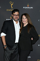 LOS ANGELES - AUG 28:  Gregori J Martin, Wendy Riche at the 2019 Daytime Programming Peer Group Reception at the Saban Media Center at TV Academy on August 28, 2019 in North Hollywood, CA