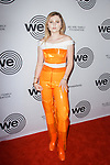 Guest arrives at the We Are Family Foundation 2018 celebration gala at the Hammerstein Ballroom in New York City, on April 27 2018.