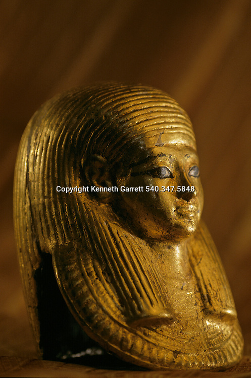 Gold Funerary Mask of Fetus, KV 54,Tutankhamun and the Golden Age of the Pharaohs, Page 125