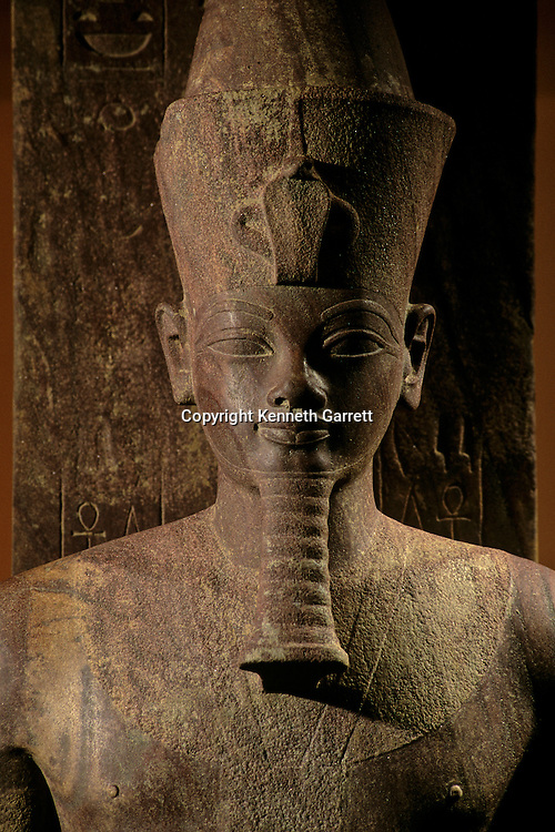 Valley of the Kings; Amenhotep III; Luxor Museum; Egypt, statue, New Kingdom, Egypt